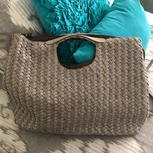 Anthropologie Woven Bag